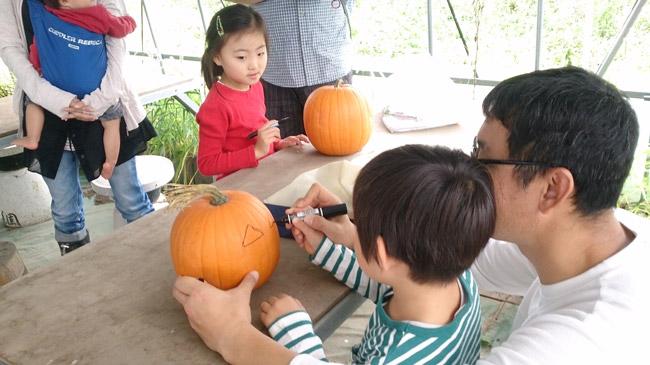 9月27日親子農業体験