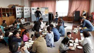 12月11日収穫祭・そば打ち体験・餅つき